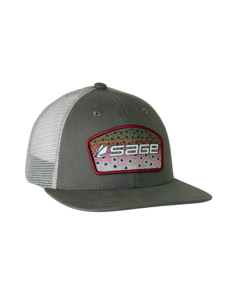 farbank Sage Trucker Charcoal - Rainbow