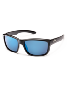 Suncloud Mayor - Black w/PLR Blue mirror lense