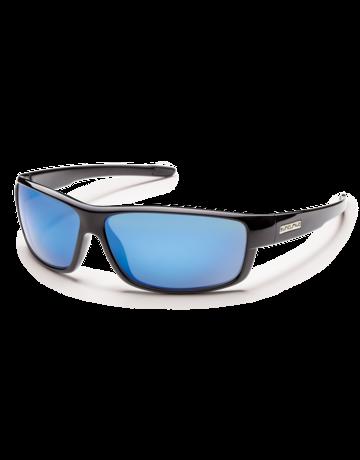 Suncloud Voucher Black W/ Blue Mirror Lense