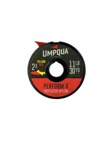 Umpqua Umpqua Perform X Indicator Tippet, Red/Yellow