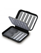 Anglers Sport C&F Small 8-Row Nymphing Fly Box with Flip Page CF-1535N