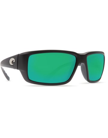 Costa De Mar Costa Fantail - Black Green Mirror 580G