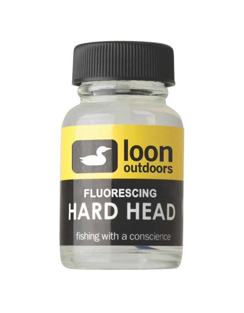 Loon Loon Fluorescing Clear Hard Head Tying Cement