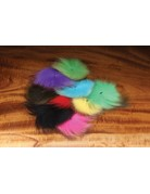 Hareline Dubbin Arctic Fox Tail Pieces