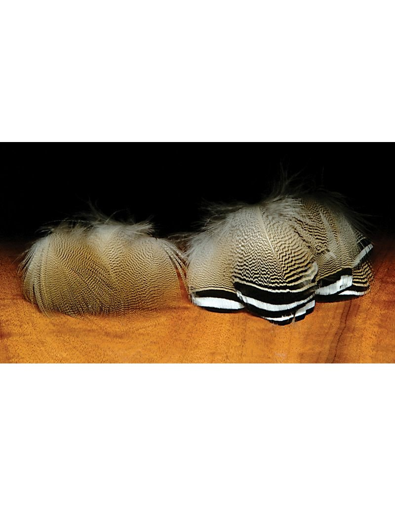Hareline Dubbin Barred Woodduck Feathers