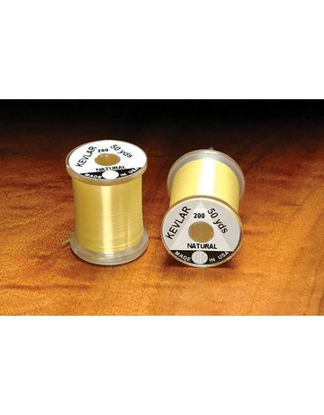 Hareline Dubbin Kevlar Thread Natural