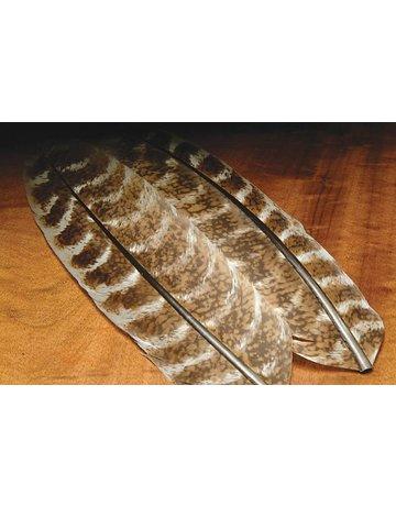 Hareline Dubbin Ozark Oak Mottled Turkey Quills