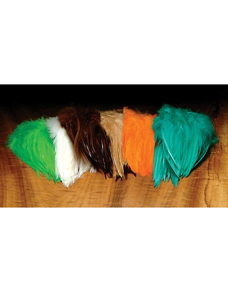 Hareline Dubbin Strung Chinese Saddle Hackle 5 to 7 Inch