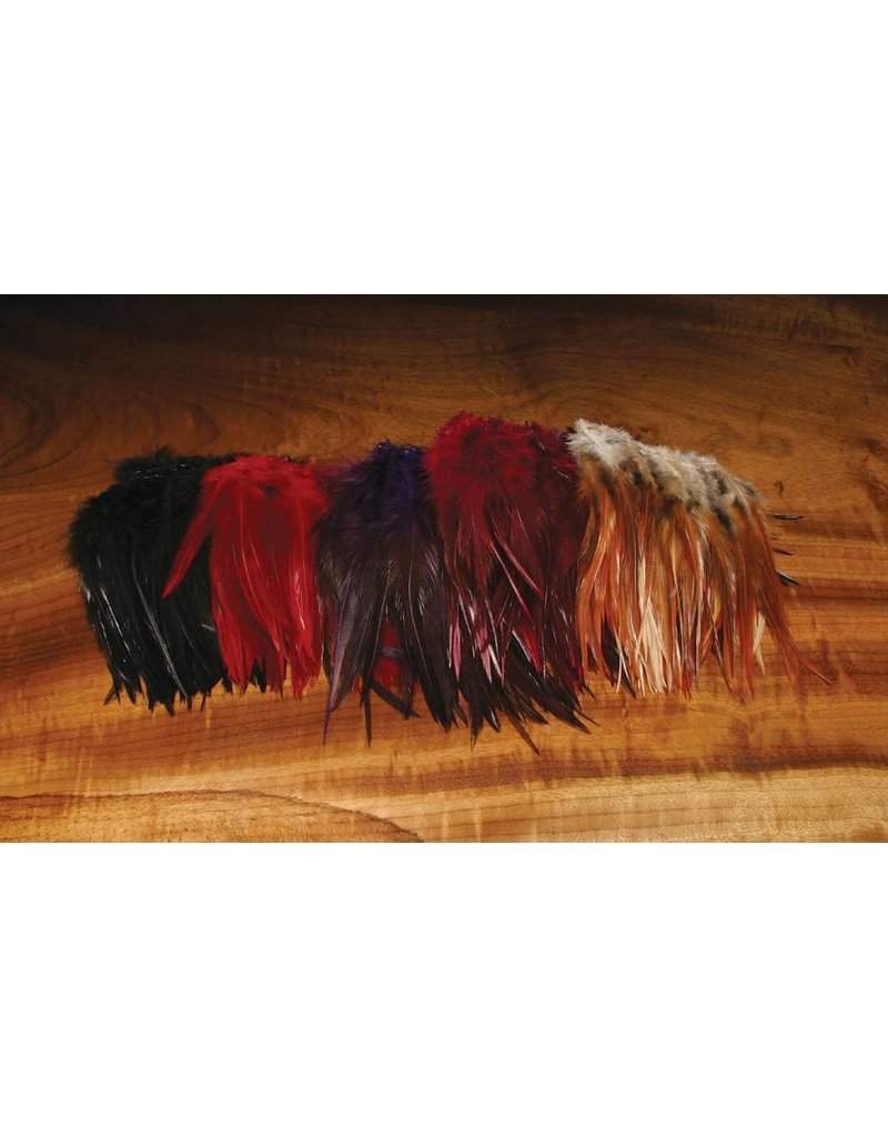 "Hareline Dubbin Woolly Bugger Saddle Hackle 6-7"""