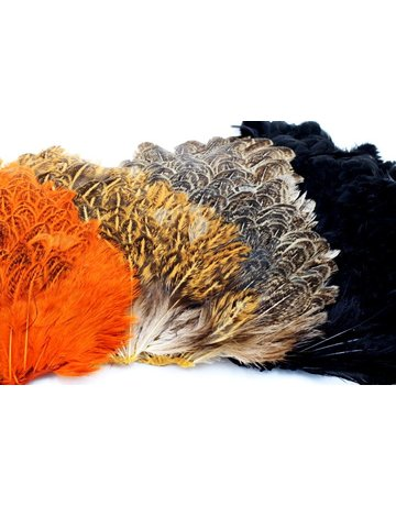 Wapsi Soft Hackle Hen Saddle Patch