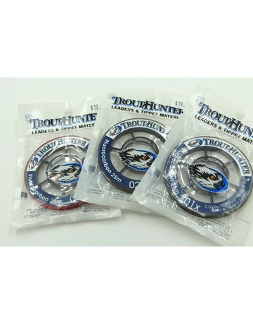 Trout Hunter Trout Hunter Big Game Fluorocarbon Tippet 25M