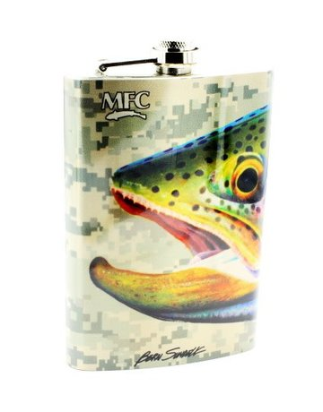 Montana Fly Company MFC Stainless Hip Flask - Sundell's Starlight Rainbow