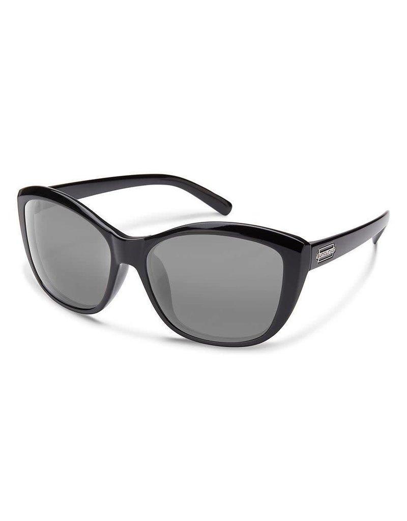 Suncloud Skyline Black W/ Grey Lense