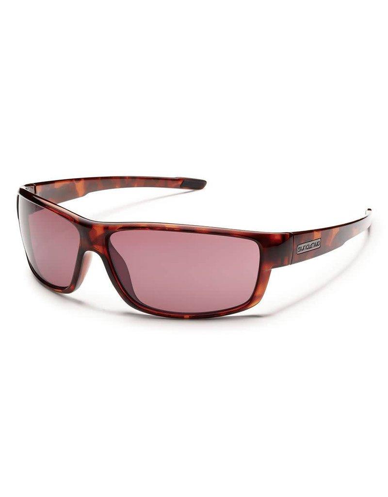 Suncloud Voucher Brown Stripe W/ Brown Lense