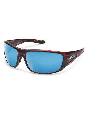 Suncloud Tribute Matte Tortoise W/ Blue Mirror Lense
