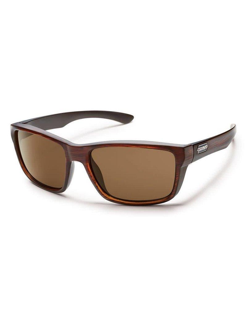 Suncloud Mayor Burnishd Brown W/ Brown lense