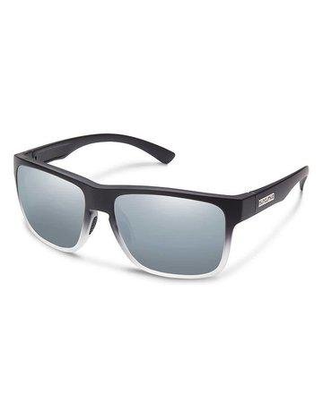 Suncloud Rambler Black Grey W/ Silver Mirror