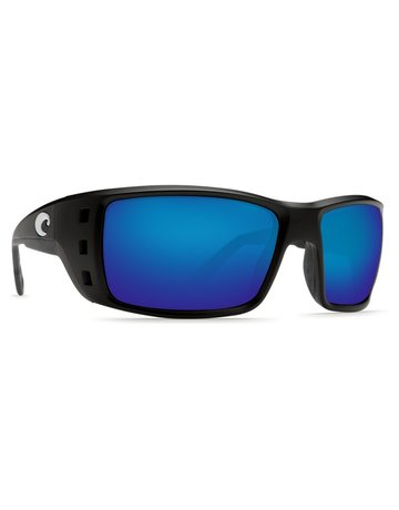 Costa De Mar Costa Permit - Black Blue Mirror 580G