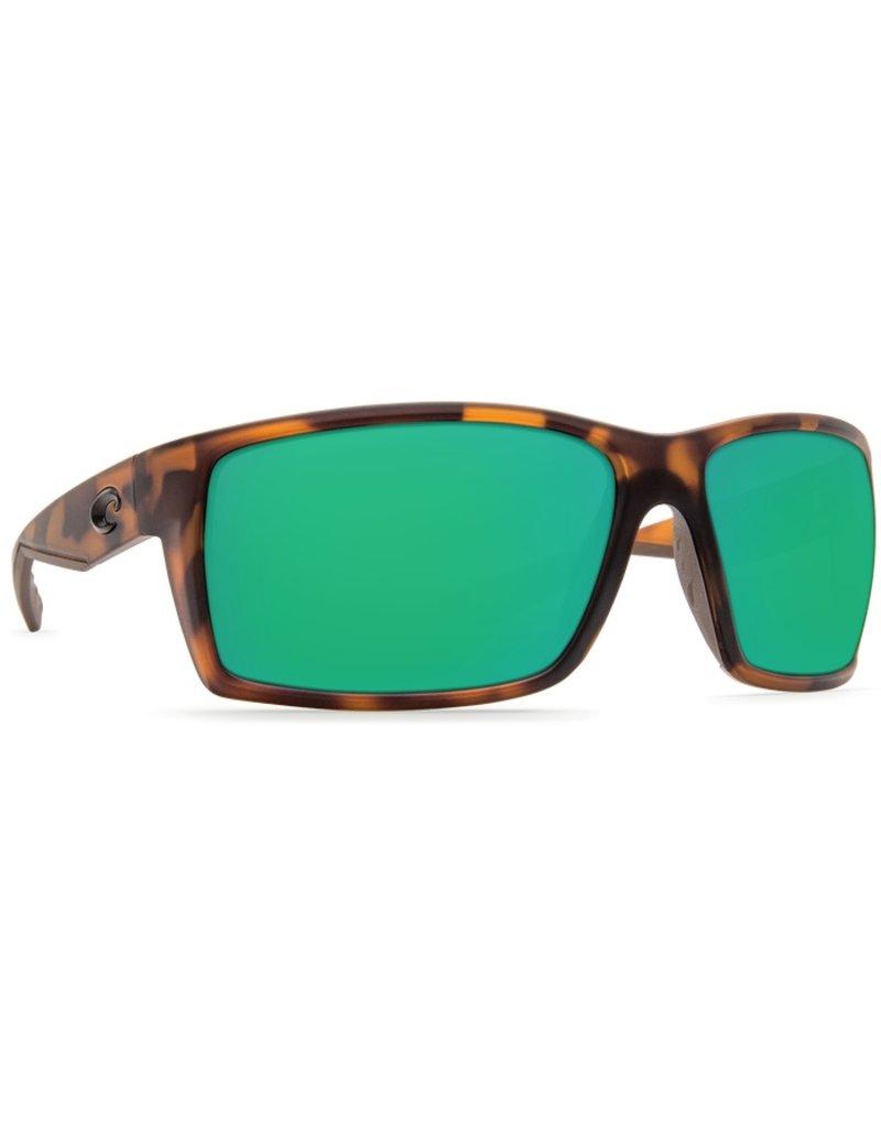 Costa De Mar Costa Reefton - Matte Retro Tortoise Green Miror 580G
