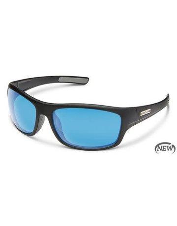 Suncloud Cover Black/ Blue Lense