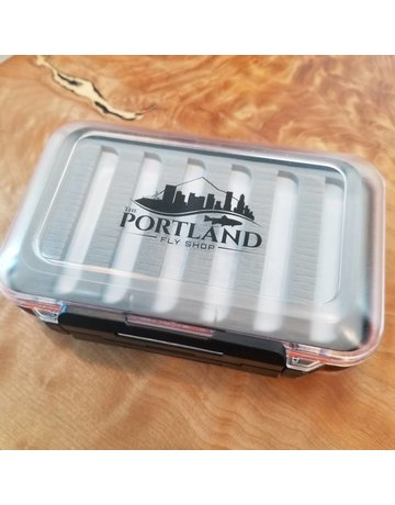 "In House TPFS Waterproof Fly Box Double Sided 6"" X 4"""