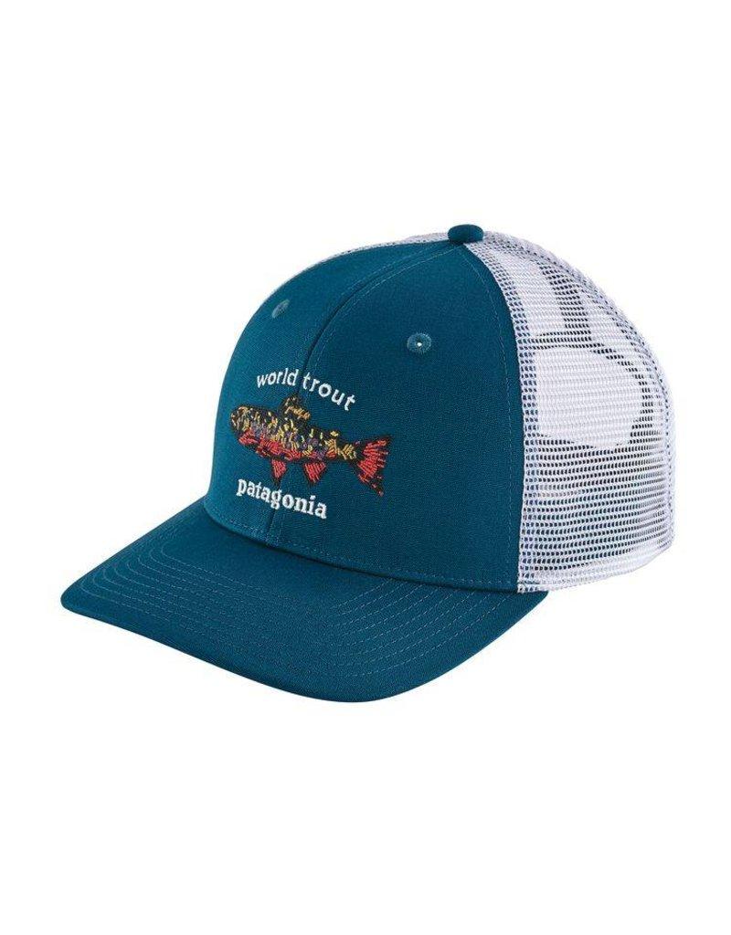 Patagonia Patagonia World Trout Brook Fishstitch Trucker Hat