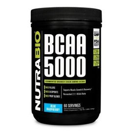 Nutrabio BCAA 5000 Powder