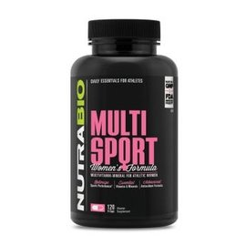 Nutrabio MultiSport for Women (120 Capsules)