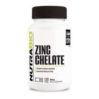 Nutrabio Zinc Chelate 30mg