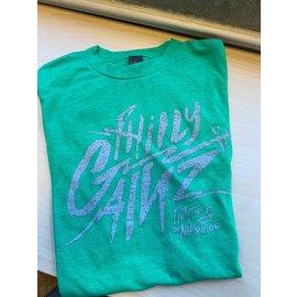 Philly Gainz Kelly Green w/ White Logo T-Shirt