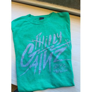 Philly Gainz Kelly Green w/ White Logo T-Shirt