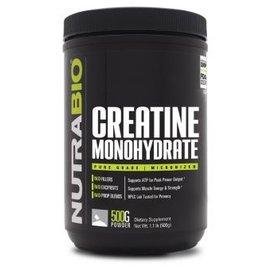 Nutrabio 100% PURE CREATINE MONOHYDRATE