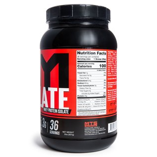 MTS Nutrition ISOLATE WHEY PROTEIN POWDER