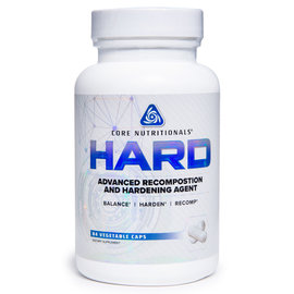 Core Nutritionals HARD - Advanced Recomposition and Hardening Agent