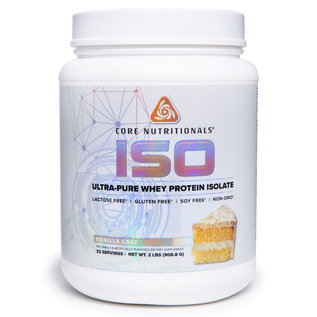 Core Nutritionals ISO - Ultra Pure Whey Protein Isolate