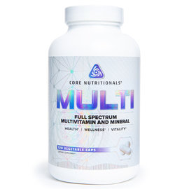 Core Nutritionals MULTI- Full Spectrum Multivitamin And Mineral