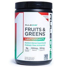 Rule 1 Fruits & Greens + Antioxidants