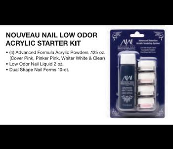 Nouveau Nail Low Odor Acrylic System (Ensemble de départ)