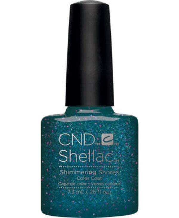 Shellac Shimmering Shores-(7.3ml./ .25 oz.)