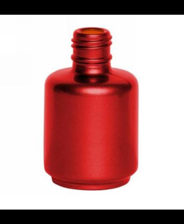 Bouteilles vides en céramique (rouge)