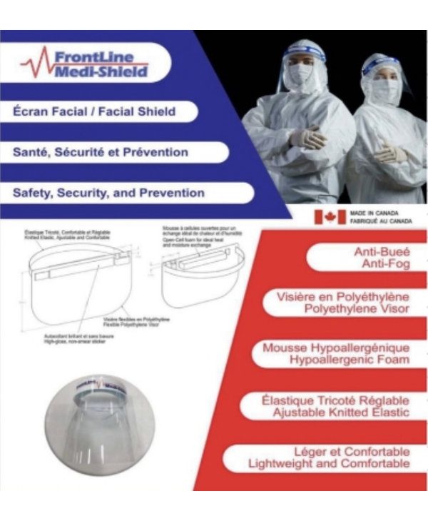 Visiere paquet de 5 (Servi Shield)