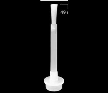 Pinceau de Très Bonne Qualité pour Colle et Vernis Gel  /Extra long 49 mm Tige plate