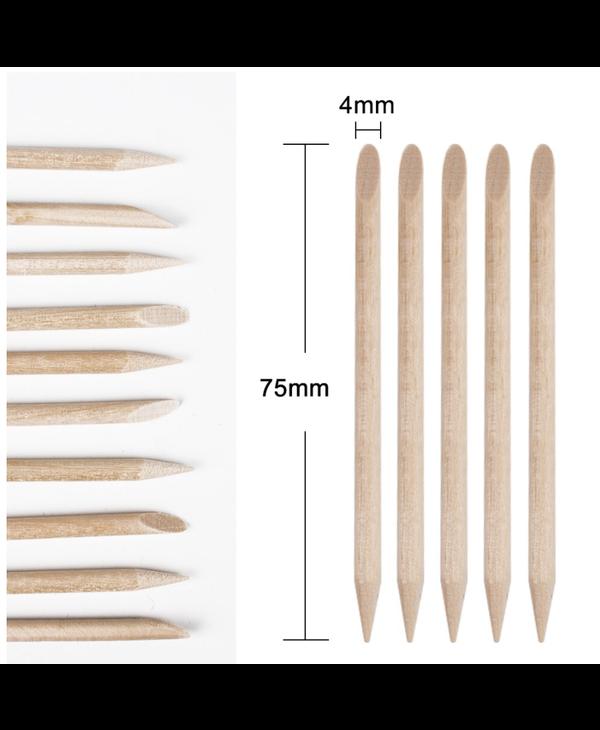 Mini Batons de bois pour Manucure