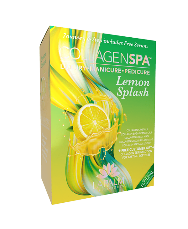 La Palm Collagen Spa 6 Step System Lemon Splash