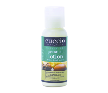 Cuccio Scentual Lotion Artisan Shea & Vetiver 2 fl oz