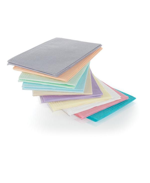 Serviettes plastifiées Paquet de 125