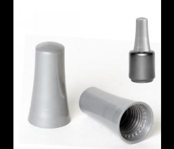 Bouchons Concave Gris pour bouteilles 15mm