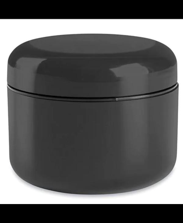 Bocaux en dôme à paroi double  (Eponge incluse)–8 oz, noir