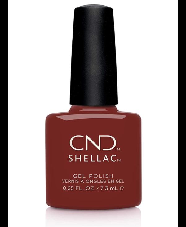 CND Shellac Bordeaux Babe (7.3ml./ 1/4 oz.)