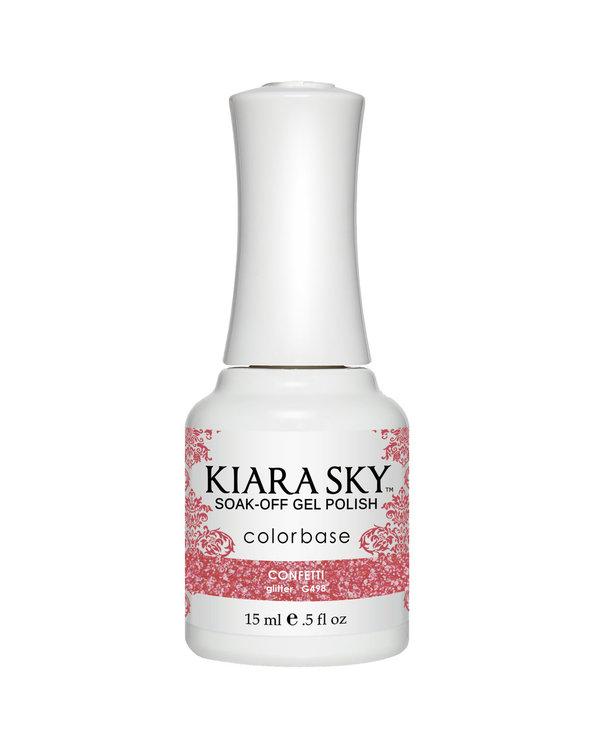 Kiara Sky Gel Polish G498 CONFETTI-glitter